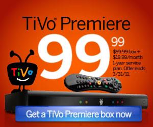 TiVo - 10% off coupon code SAVE10