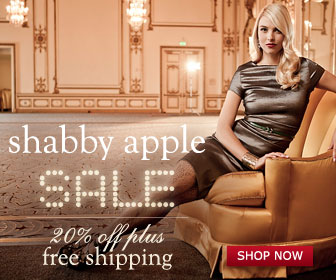 Shabby Apple 20% Off Plus Free Shipping