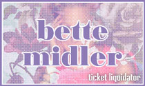 Bette Midler Concert Tickets