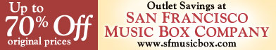 San Francisco Music Box Company Online Outlet
