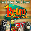 Cool Retro Gifts and Decor from RetroPlanet