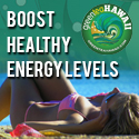 Boost healthy energy levels