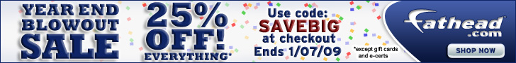 Fathead�s Countdown to Christmas Sale: Buy 1 Get 1