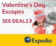 Valentine's Day Escapes at Expedia!