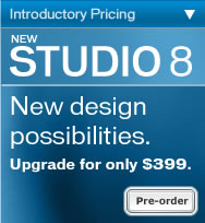 Upgrade to Studio 8! Only $399