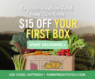 Get $15 Off Your First Box of Organic Produce