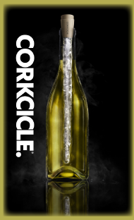 The All New CORKCICLE.  For Perfect Wine.