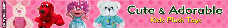 Kids Plush Toys - PartyBell.com