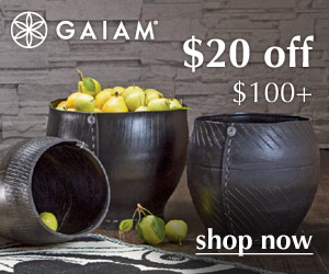 Gaiam Sale - Save 20%!