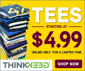t-shirts starting at $4.99!