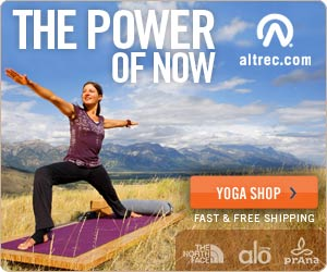 The Power of Now - Shop the Altrec Yoga Store