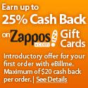 25% Cash Back