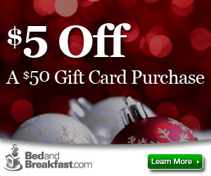 Save $5 on a $50 Gift Card Purchase