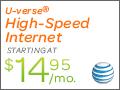AT&T U-verse Internet Free Device