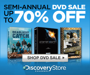 Discovery Semi-Annual DVD Sale Up to 70% OFF!