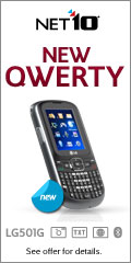 New QWERTY Phone - LG900G / Net10 Unlimited