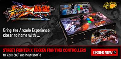 Street Fighter X Tekken FighSticks & Fightpads