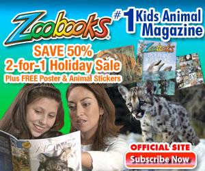 Order ZooBooks Magazine for Kids with Free Gifts