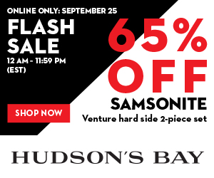 FLASH SALE 65% off Samsonite Venture hard side 2-piece set