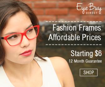 Prescription Glasses $11.95 Shipped!