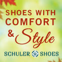 Fall Shoes with Comfort and Style from Schuler Shoes.