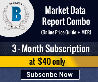 Image for Save 16% on 3 Months Market Data Report Combo Subscription (Online Price Guide +MDR) .Special Price: $40