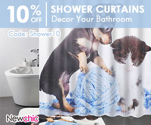 10% Off Shower Curtains Home Decor