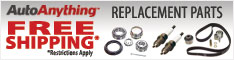Free Shipping on replacement auto parts.
