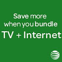 AT&T U-verse Shop Popular Bundles