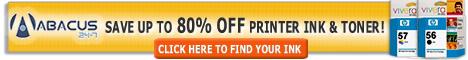 Save Up to 80% Off Printer Ink & Toner
