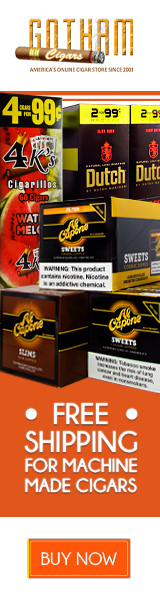 Buy One Get One Free one over 50 of the most popular cigarillo, little cigars,filtered cigar brands.
