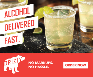 Save big on your next Beer Wine or Liquor delivery. Use code: DRIZLYFIVE today!