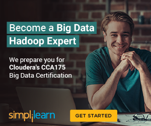 300x250 Big Data Hadoop Expert - Prepare for Cloudera's CCA175