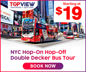 TopView New York City Sightseeing
