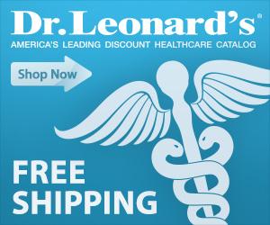 Dr. Leonard's free shipping