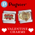 Valentine Italian Charms at Pugster