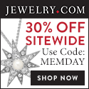 Jewelry Memorial Day Sale: Extra 30% Off Sitewide Deals