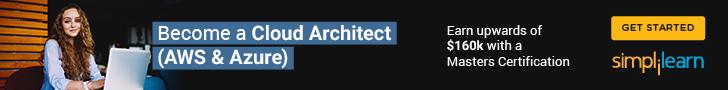 728x90 Cloud Architect (AWS & Azure)