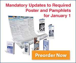 Get Your 2019 California and Federal Required Notices Kit at CalChamber.com!