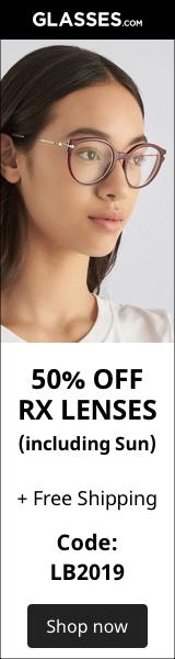50% Off Rx Lenses