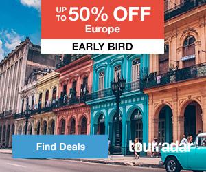 Feature 6: Tour Radar Europe Early Bird Deals
