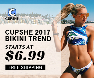 Cupshe 2017 Bikini Trend! Starts at $6.99!Shop Now!