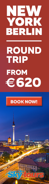 New York to Berlin with Skytours from 620 EUR