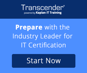 Transcender - Prepare with the Industry Leader