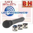 Save 10-25% on Lectrosonics at B&H