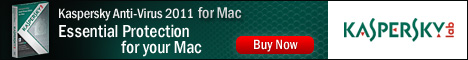 Kaspersky Anti-Virus 2011 for Mac