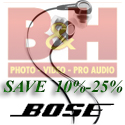 Save 10-25% on Bose at B&H Photo