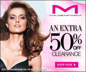 Maidenform | Additional 50% off Clearance + Free Shipping (3 Days Only)