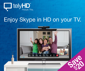 SAVE $20 on telyHD
