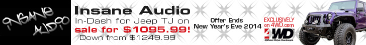 Insane Jeep Audio In-dash for TJs on sale for $1095.99